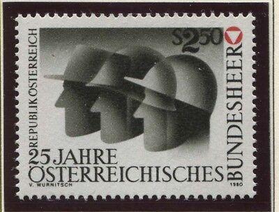 Able Österreich Austria 1659 25.jahre Österreichisches Bundesheer 1980 ** Österreich Ab 1945