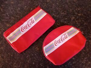 Vintage Coca-Cola Makeup Bags