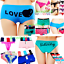 4-Women-Panties-Underwear-Bikini-Lace-Cotton-Thong-Briefs-Shapewear-Body-Shaper thumbnail 2
