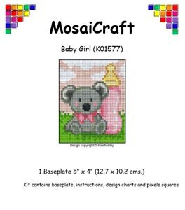 MosaiCraft-Pixel-Craft-Mosaic-Art-Kit-039-Baby-Girl-039-Pixelhobby