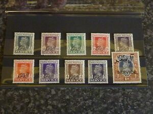MUSCAT-SERVICE-POSTAGE-STAMPS-SG01-010-1944-UN-MOUNTED-MINT