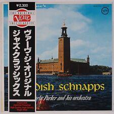 CHARLIE PARKER: Swedish Schnapps VERVE Japan Jazz Vinyl LP NM w/ OBI