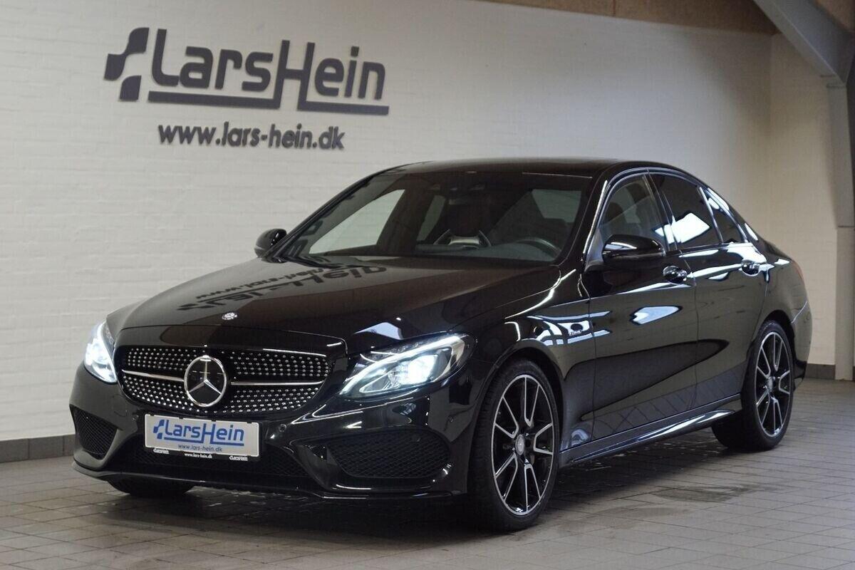Mercedes C43 3,0 AMG aut. 4-M 4d - 649.800 kr.