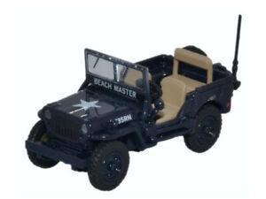 Oxford 76wmb001 00 Voitures Willys Jeep Mb Royal Navy-afficher Le Titre D'origine