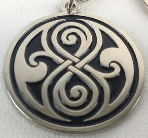 Seal of Gallifrey Rassilon DOCTOR WHO UK TV Series UK Imported Keychain Keyring