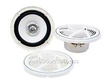"""Pioneer TS-MR1600 200 Watt 6.5"""" Dual Cone Marine Boat Audio Speakers 6-1/2"""""""