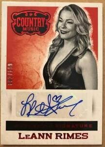 2014-Panini-Country-Music-Signatures-Autograph-Green-Red-Silver-Pick-From-List