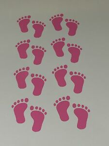 Pink Baby Feet 8 x pairs stickers vinyl wall art nursery baby kids children - <span itemprop='availableAtOrFrom'>Gloucester, United Kingdom</span> - Pink Baby Feet 8 x pairs stickers vinyl wall art nursery baby kids children - <span itemprop='availableAtOrFrom'>Gloucester, United Kingdom</span>