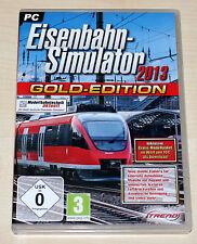 EISENBAHN SIMULATOR 2013 - GOLD EDITION - PC - NEUWERTIG