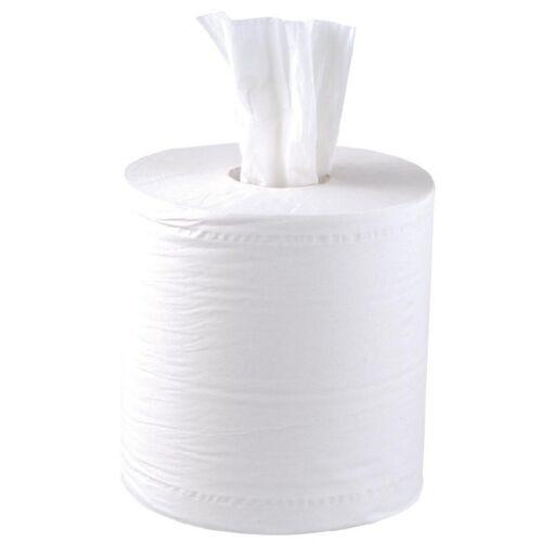 de grado comercial cantidad 12 Blanco Rollo centrefeed industrial Rollo 150m 2Ply blanco