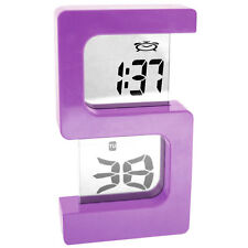 DIGITAL LCD ALARM TABLE DESK CLOCK TIME STOPWATCH - A48