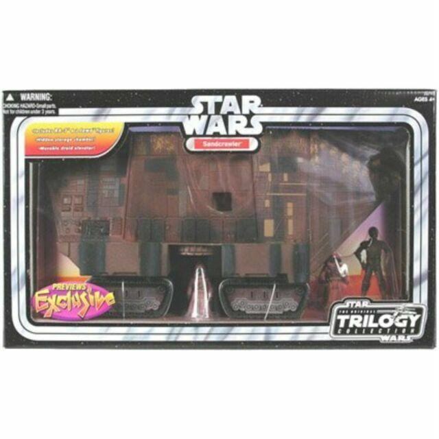 Hasbro Star Wars Original Trilogy Collection Sandcrawler 2004 For Sale Online Ebay