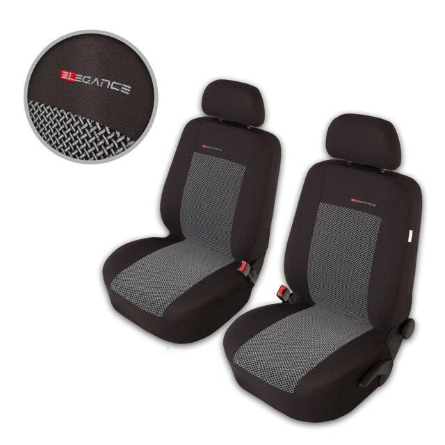 Sitzbezüge Sitzbezug Schonbezüge für Toyota Avensis Dunkelgrau Sportline Set