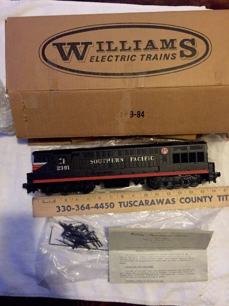 Vintage Williams Southern Pacific Trainmaster SD-45 F7 Diesel GG-1 (Lionel MTH)