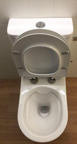 spülrandlos Stand WC Toilette Spülkasten Nano Beschichtung Softclose Sitz Brille