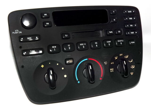 2004 Ford Taurus Car Stereo Am Fm Cassette Radio Mercury Sable Rhebay: Ford Taurus Mercury Sable Radio Cd Car Stereo At Elf-jo.com