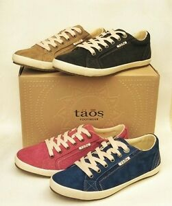 Taos-Shoes-Canvas-comfort-lace-ups-Star-new-season-colours
