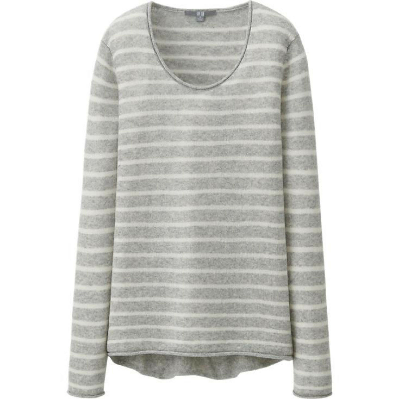 Women Light Cashmere Striped Sweater