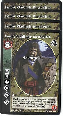 Tzimisce VTES V:TES Third Edition Count Vladimir Rustovitch