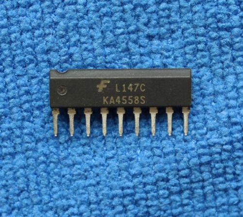 10pcs KA4558S Dual Operational Amplifier SIP9