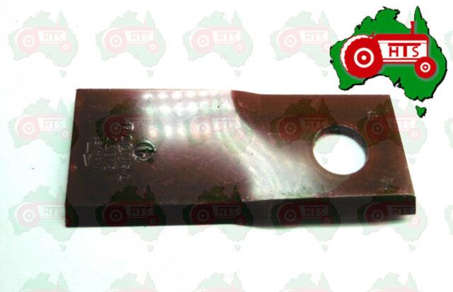 107mm x 48mm x 4mm Hay RH Blade Disc Mower ID 18.50mm