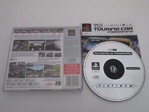 TOCA-TOURING-CAR-CHAMPIONSHIP-SONY-PLAYSTATION-Jeu-PS1-Platinum-PAL-Fr