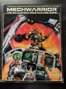 1x-Mechwarrior-First-Edition-Used-Acceptable-Battletech-RPG