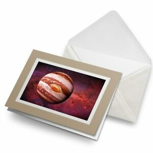 Greetings-Card-Biege-Planet-Jupiter-Solar-System-Space-15898