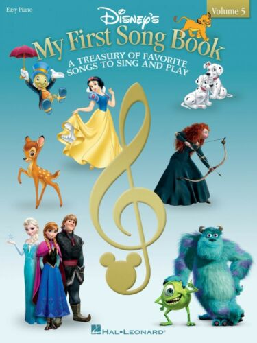 Disney/'s My First Songbook Volume 5 Sheet Music Easy Piano Songbook 000140978