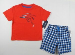 Nautica-Baby-Boys-039-2-piece-Shirt-and-Shorts-set-sizes-12-18-months