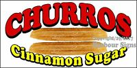 (choose Your Size) Churros Decal Food Truck Vinyl Sign Concession