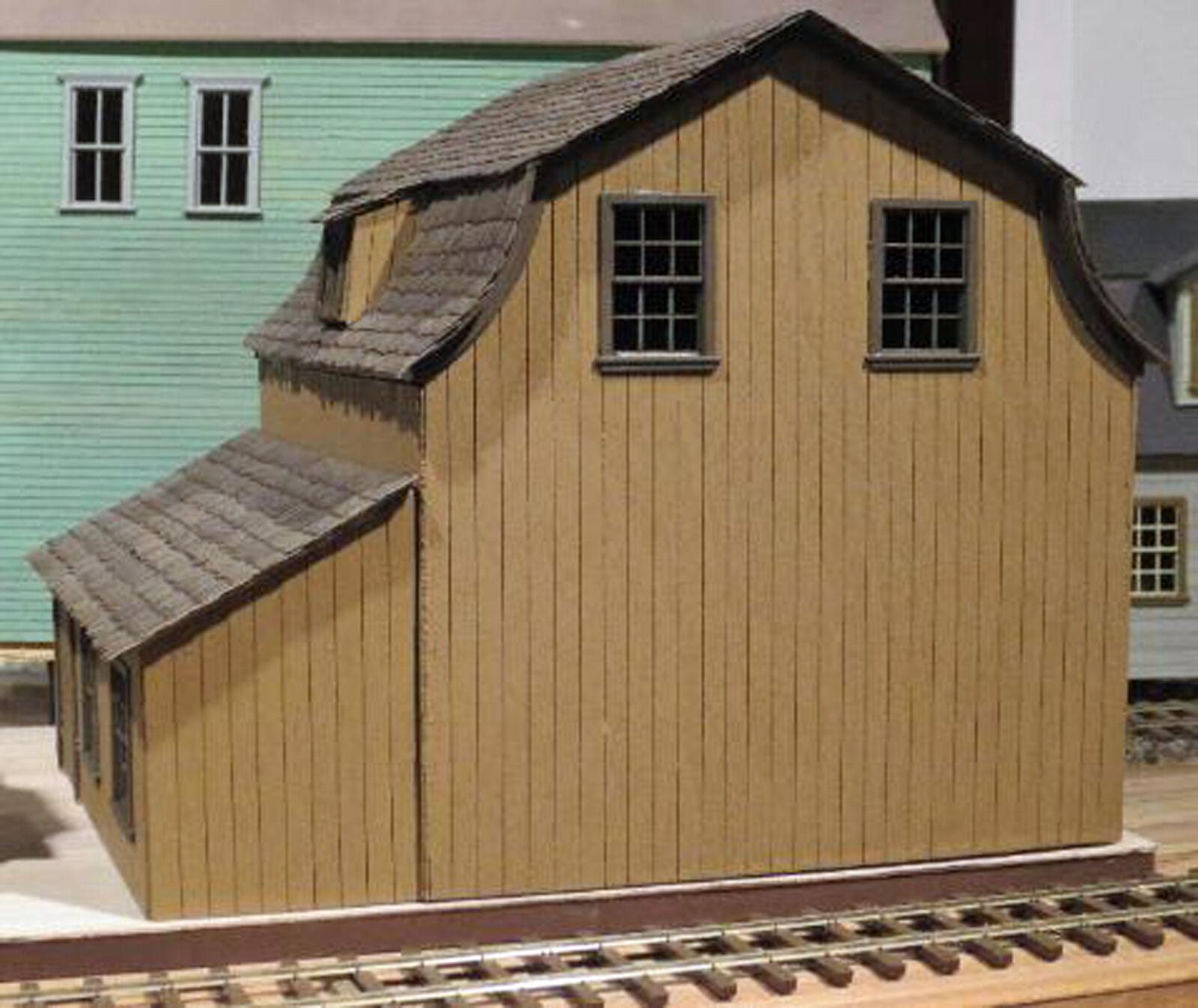 WHARF SAIL LOFT O O O On30 Model Railroad Unpainted