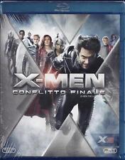 Blu-ray Disc **X-MEN ~ CONFLITTO FINALE** con Hugh Jackman nuovo sigillato 2006