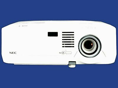 NEC NP410 3LCD Projector 2600 ANSI HD 1080i HDMI adapter w//Accessories TeKswamp