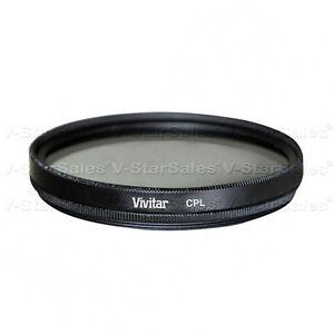 Vivitar-86mm-CPL-Filtro