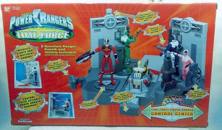 Power Rangers Time Force Control Center With With With Ransik & Quantum Ranger (MISB) 94e75e