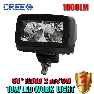 30W Cree Led Light Bar Spot Work Light Off-road Driving Lamp For Pickup SUV JEEP