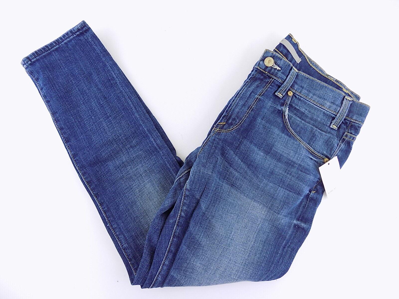 VINCE  WOMEN SIZE 27 blueE SLIM DESIGNER JEANS M18