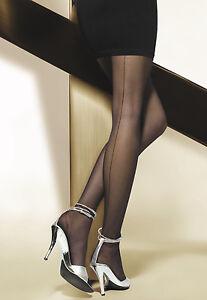 Sexy-Tights-Cuban-Heel-With-Back-Seam-Gatta-034-CHIARA-034-20-Denier