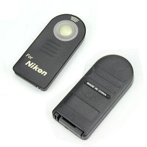 IR Wireless Shutter Remote Control For Nikon D7100 D5100 D5200 D3200 D600 CAMERA