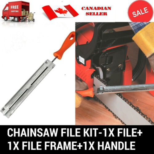 "3PC CHAINSAW CHAIN SHARPENING FILE GUIDE KITS 7//32/"" SUIT STIHL HUSQVARNA"