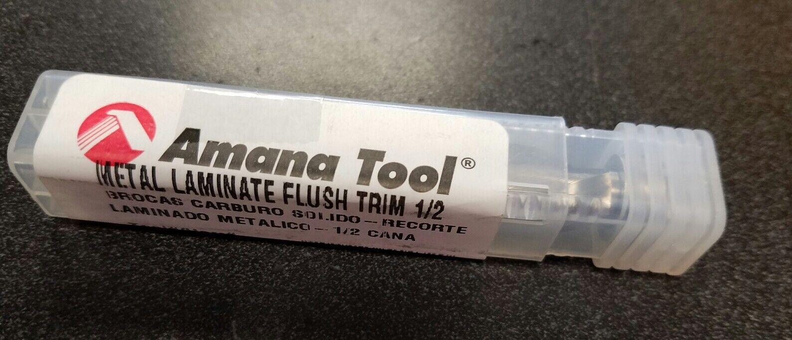 Amana 51432 Invectra Metall Laminat Trimmen Router 1.3cm Schaft