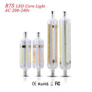 led bulb r7s j78 j118 3014 smd flood light replacement tube lamp ac 220v halogen ebay. Black Bedroom Furniture Sets. Home Design Ideas
