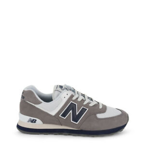 NEW-BALANCE-SCARPE-UOMO-Sneakers-basse-ML574ESD-GRIGIO-GREY-DECONSTRUCTED-NUOVE