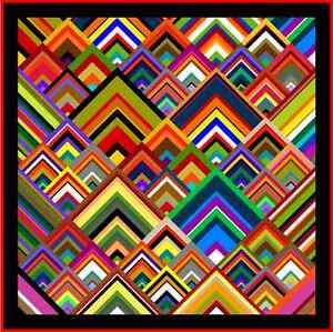 PINNACLES-57-034-Quilt-Addicts-Pre-cut-Patchwork-Quilt-Kit-Lap