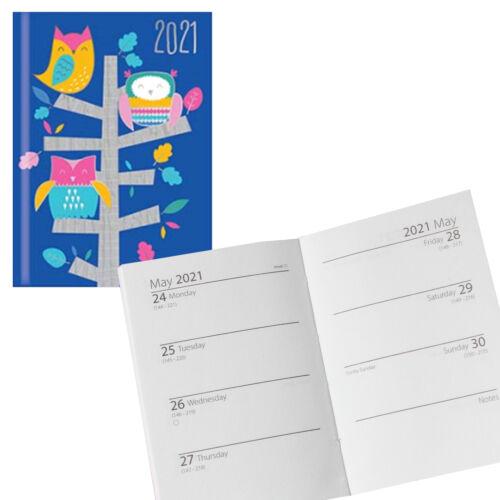 Búhos Tallon 2021 Midi Tapa Dura Diario Semanal 0330