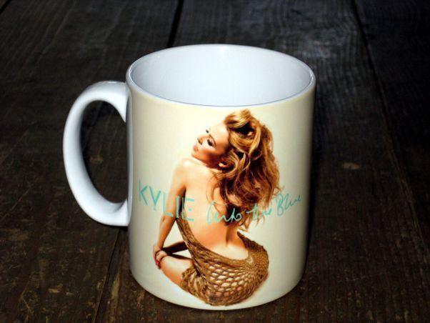 Kylie Minogue Into The Blue Advertising MUG