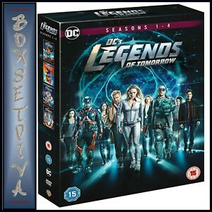 LEGENDS-OF-TOMORROW-COMPLETE-SEASONS-1-2-3-4-DC-BRAND-NEW-DVD-BOXSET