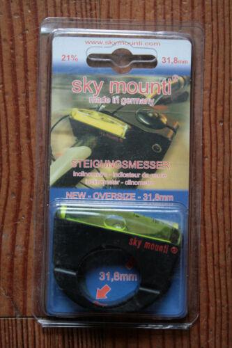 Sky Mounti Inclinometro//Indicatore Gradiente Bicicletta,2 i Modelli Scelta,Made