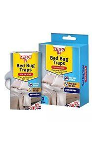 Bed Bug Pièges - 3 Pack For The Home-pièges Et Moniteurs Bed Bugs Zéro En Neuf-afficher Le Titre D'origine Sf4kzo2q-10035145-299018029